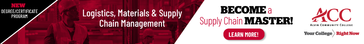New Program! Logistics, Materials, and Supply Chain Management